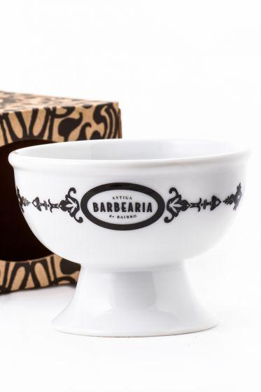 Antiga Barbearia de Bairro scheerkom porselein Barber