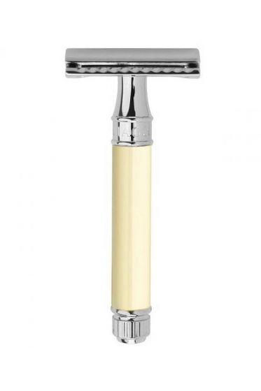 Edwin Jagger DE87 double edge safety razor wit chroom