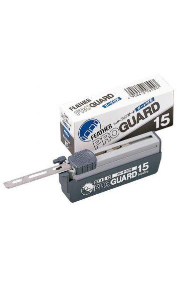 Feather shavette scheermesjes Professional Blades Pro Guard PG15