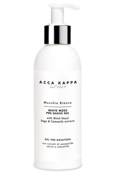 Acca Kappa pre shave gel White Moss 200ml