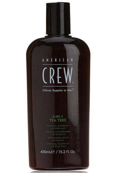 American Crew Tea Tree 3-in-1 450ml