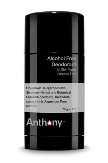 Anthony alcoholvrije deodorant 70gr