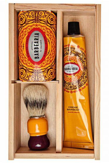 Antiga Barbearia de Bairro cadeau scheerset Ribeira Porto