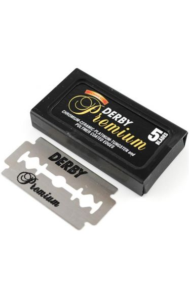 Derby double edge scheermesjes Premium 5 stuks