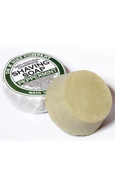 Dr K Soap Company scheerzeep Pepermunt 70gr