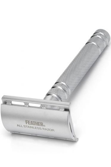 Feather All Stainless double edge safety razor AS-D2