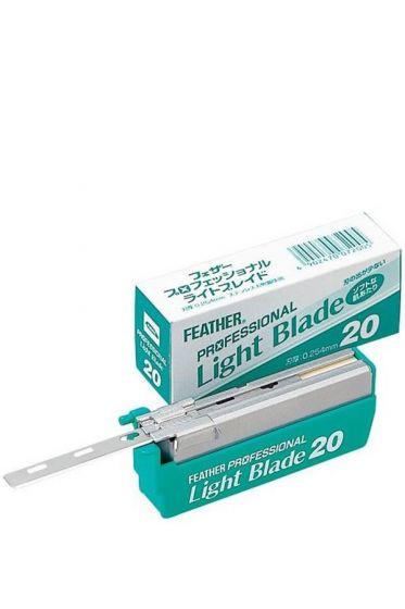 Feather shavette scheermesjes Professional Blades Light PL20