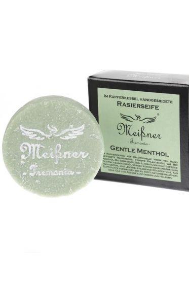 Meissner Tremonia scheerzeep Gentle Menthol 95gr