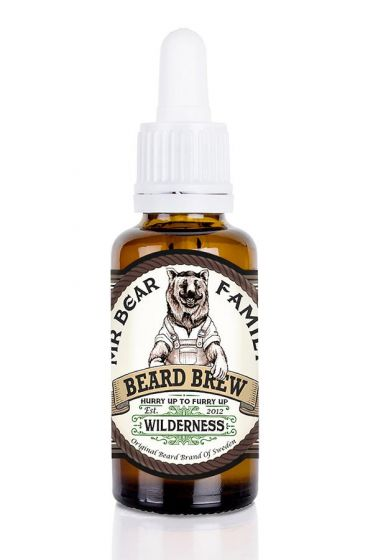 Mr Bear Family baardolie Beard Brew Wilderness 30ml