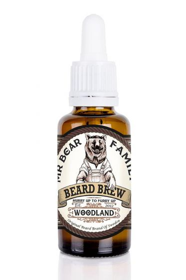 Mr Bear Family baardolie Beard Brew Woodland 30ml