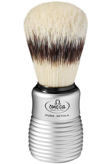 Omega scheerkwast varkenshaar matchroom ribbel