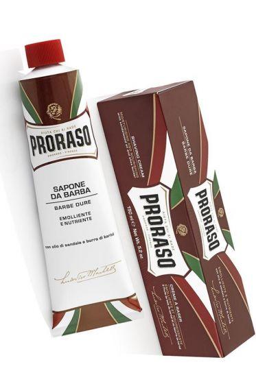 Proraso scheercrème voor de zware baardgroei 150ml