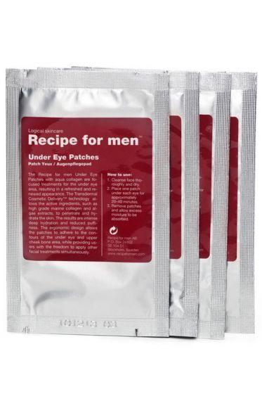 Recipe for Men oogwallen pads 4x