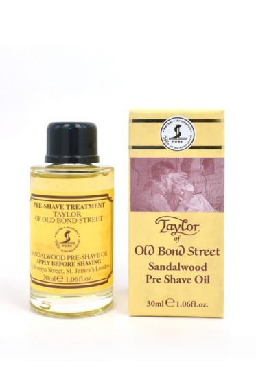 Taylor of Old Bond Str. pre shave olie Sandelhout 30ml