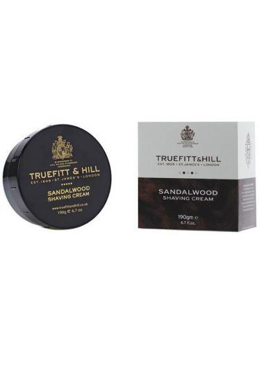 Truefitt & Hill Sandalwood scheercrème 190gr
