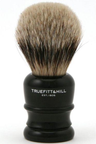 Truefitt & Hill scheerkwast dashaar superbadger Wellington Zwart
