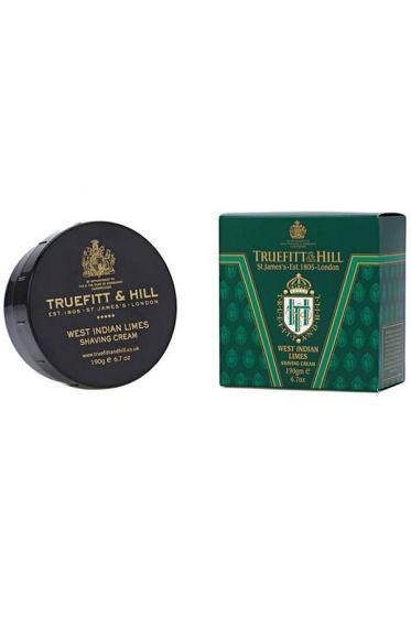Truefitt & Hill West Indian Limes scheercrème 190gr