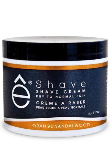 eShave scheercrème Orange Sandalwood 120gr