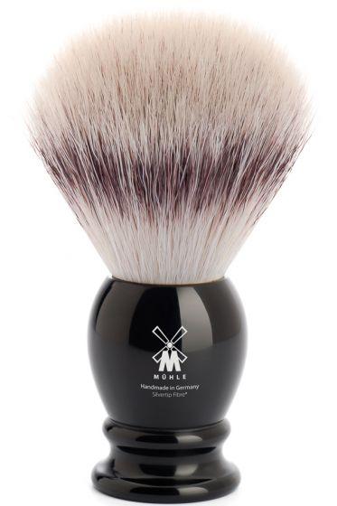 Muhle scheerkwast synthetisch haar CLASSIC zwart L