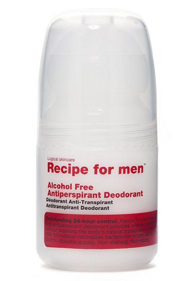 Recipe for Men alcoholvrije deodorant 60ml