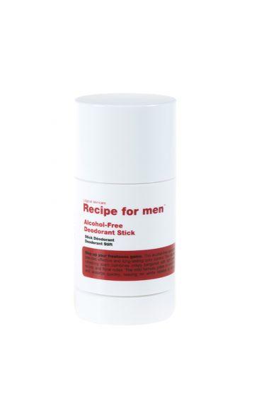 Recipe for Men alcoholvrije deodorant stick 75ml
