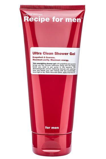 Recipe for Men douchegel Ultra Clean 200ml
