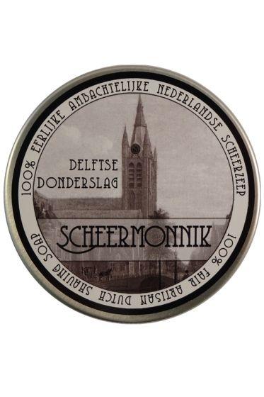Scheermonnik scheercrème Delftse Donderslag 75gr