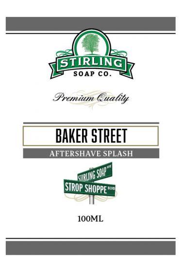 Stirling Soap Co. after shave Baker Street 100ml