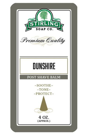 Stirling Soap Co. after shave balm Dunshire 118ml