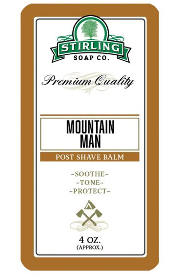 Stirling Soap Co. after shave balm Mountain Man 118ml