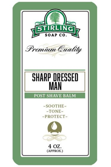 Stirling Soap Co. after shave balm Sharp Dressed Man 118ml
