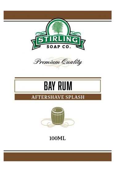 Stirling Soap Co. after shave Bay Rum 100ml