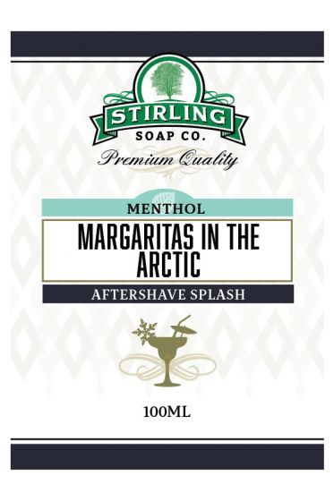 Stirling Soap Co. after shave Margaritas in the Artic 100ml