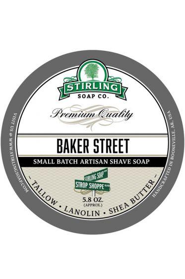 Stirling Soap Co. scheercrème Baker Street 165ml