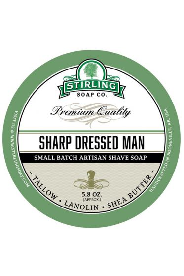 Stirling Soap Co. scheercrème Sharp Dressed Man 165ml