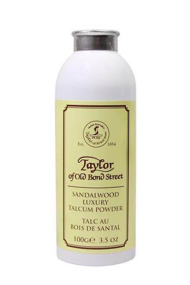 Taylor of Old Bond Str. talkpoeder Sandelhout 100gr
