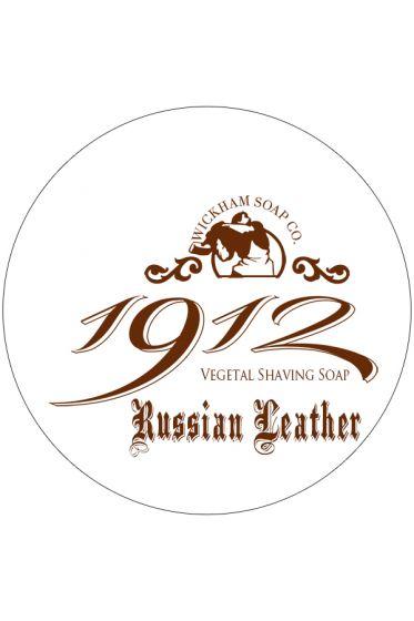 Wickham Soap Co. 1912 scheercrème Russian Leather 140gr